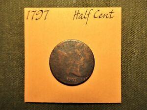 1797 Liberty Cap Half Cent