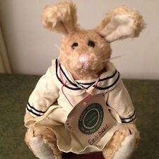"""Retired Boyds Plush Collectible Emily Babbit Spring1995 Bunny Hare Rabbit 8"""" Nwt"""