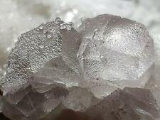 ☆Rosa Fluorit m. UV Calcit & Pyrit💎Top Mineral ⚒Pasto Bueno Mine, Peru