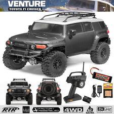 HPI 116558 1/10 Venture Crawler FJ Cruiser 4WD RTR Gray w/ Radio /Battery / Chgr
