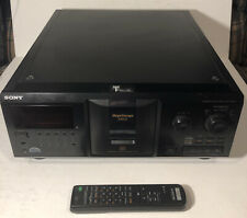 Sony CDP-CX355 Mega Storage Compact Disc 300 CD Changer Player w/ Remote