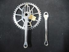 """Vintage RUDGE bicycle bike Chainwheel Set 44T  7""""arm 1960s NOS made in England"""