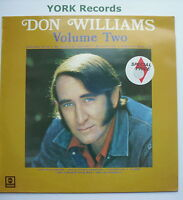 DON WILLIAMS - Volume Two II - Excellent Condition LP Record MCA MCL 1641