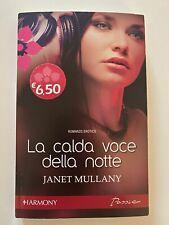 JANET MULLANY LA CALDA VOCE DELLA NOTTE HARMONY PASSION LIBRO OTTIME CONDIZIONI