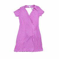 Dvf Diane Von Furstenberg Women's Midi Dress S Colour:  Pink