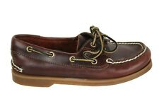 TIMBERLAND Brown Leather Boat Shoes Boys Youth Children's Sz. 2