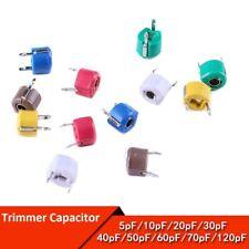 Trimmer Capacitor 6mm 5PF 10PF 20PF 30PF -120PF Adjustable Variable Capacitors