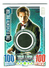 Doctor Who Alien Attax Topps 50th Ann Eleventh Doctor Costume Card #1716/4150