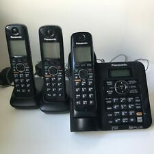 Panasonic KX-TG6643 - DECT 6.0 - 3 Handsets - Digital Cordless Answering System
