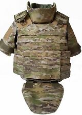 Body armor plate carrier vest MOLLE waterproof Kevlar packages 3A Multicam