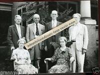 Vintage Snapshot Photo-Kimball Fam-John-Albert-Frank-Fred-Carolyn-Kate-Nebraska