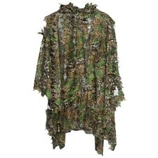 3D Camo Bionic Leaf Camouflage Jungle Hunting Ghillie Suit Woodland Sniper US