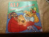Vintage - 1987 - Alf Summer Camp Adventure Storybook Kids Book Paperback