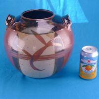 Vintage, Handmade Glazed CERAMIC POT- Signed by the Artist; Planter, Crock