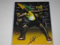 Usain Bolt Jamaica Olympic Gold SignedAutograph 11x14 PHOTO Beckett BAS COA 4