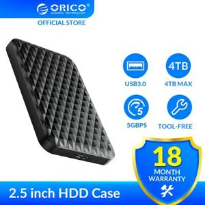 2.5 Inch HDD Case SATA 3.0 to USB 3.0 5 Gbps 4TB HDD SSD Enclosure Support UASP