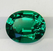 Excellent Cut Oval Loose Emeralds