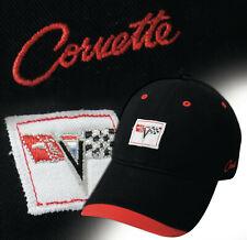 C2 CORVETTE Crossed Flag Logo & Corvette Script 626002