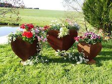Gartenfiguren skulpturen aus edelrost ebay for Gartendeko rost herz