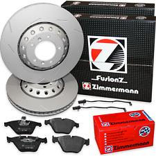 Porsche Panamera 4,8 Turbo Bremsscheiben FusionZ Bremsbelagsatz vorne Zimmermann