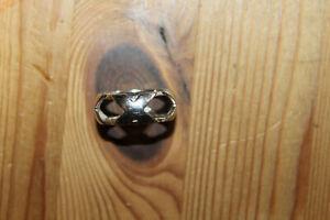 ORIGINAL JETTE JOOP EUROPE 925 Silber Ring TOP DESIGN Modernist RG 63