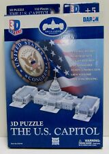Daron 3D Puzzle US Capitol 132 Pcs CF074H Cubic Fun Toys Parts Sealed AGES 5+
