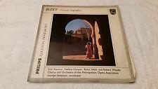 GBL 5641 Bizet Carman Metropolitan Opera Association George Sebastian vinyl LP