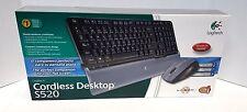 Logitech Cordless Desktop S520 Wireless Keyboard & Laser Mouse - SPANISH VERSION