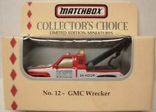 MATCHBOX Collector Choice Series, #12 GMC Wrecker, Limited Edition