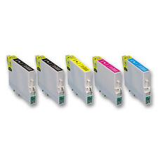 5x Tinte Patrone für EPSON T0891 T0892 T0893 T0894 Druckerpatronen (kein OEM)