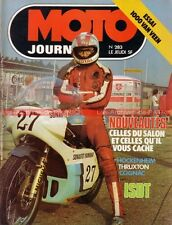 MOTO JOURNAL  283 YAMAHA DT 250 400 XS 750 DOHC XT 500 JAPAUTO Veen Wankel 1976