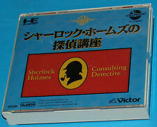 Sherlock Holmes Consulting Detective - PC-Engine - JAP