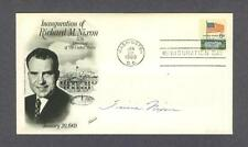 Tricia Nixon signed 1969 first day cover