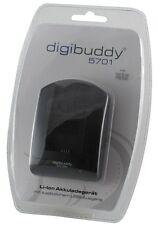 DIGIBUDDY Carica Batteria 5701 per SAMSUNG EB-F1A2GBU Galaxy S2 SII i9100 I9100