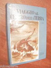 Viaggio al centro della terra Giulio Jiulius verne ed Giuseppe Malipiero 1955