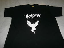 "T SHIRT ""TRAGEDY""  PUNK CRUST METAL D BEAT ANTI CIMEX WOLFBRIGADE DOOM GISM"