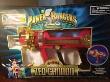 Power Rangers Zeo New ZEO CANNON Lights Electric Sounds 1996