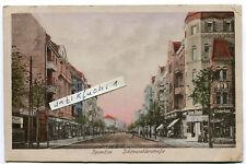 Postkarte von 1942 : Berlin-Spandau , Schönwalderstraße