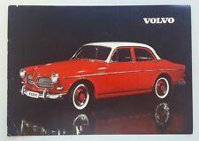 1959 Volvo 122 original sales brochure
