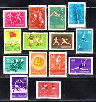 Russia 1956 MNH Sc 1840-1853 Mi 1849-1862 All-Union Spartacist Games set **