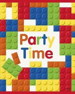 Building Blocks Party Bags - Pack of 8