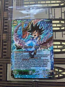 Sealed Tiny Warrior Son Goku Alt Art BT5-053 Dragon Ball Super Card