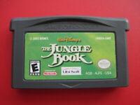 The Jungle Book Nintendo Game Boy Advance Walt Disney