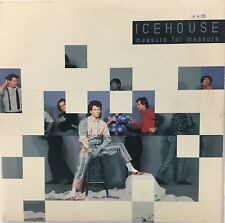 ICEHOUSE Measure For Measure Gold Stamped PROMO VG+ LP 1986 Chrysalis