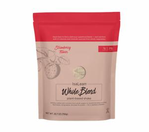 Isagenix Isalean Strawberry Flavor Plant Based Whole Blend Shake *Free Shipping*