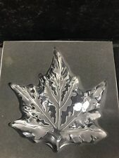 Lalique Champs Elysees Plate Super Rare Signed In Box