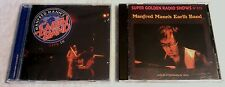 MANFRED MANN'S EARTH BAND 2 CD SET - LIVE IN AMERICA 07 + LIVE IN STOCKHOLM 74