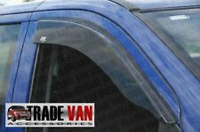 MERCEDES VITO VAN VIANO WIND DEFLECTORS DARK TINT WINDOW VISORS RAIN GUARD 04-ON