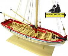Model Shipways MS1457 18th Cent. Longboat Planked Wood Kit - On Sale Only $39.99