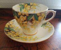 Vintage Royal Standard Laburnum Bone China Cup And Saucer set